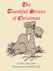 The Thankful Straws of Christmas Front Cover