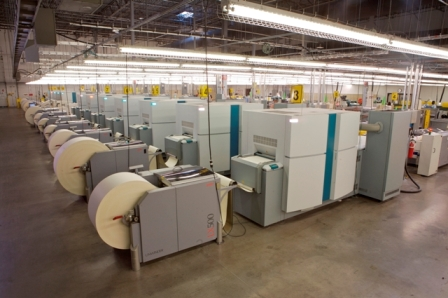 One of Ingram's print on demand facilities.